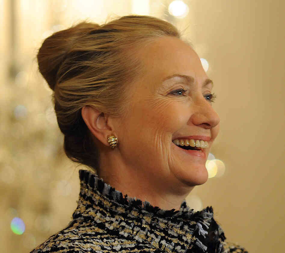 Former U.S. Secretary of State — and much-speculated about 2016 presidential candidate? — Hillary Clinton.