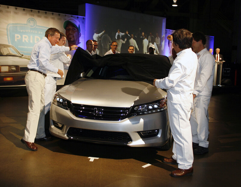 Honda's Growth Helps Tow Ohio Out Of Recession : NPR