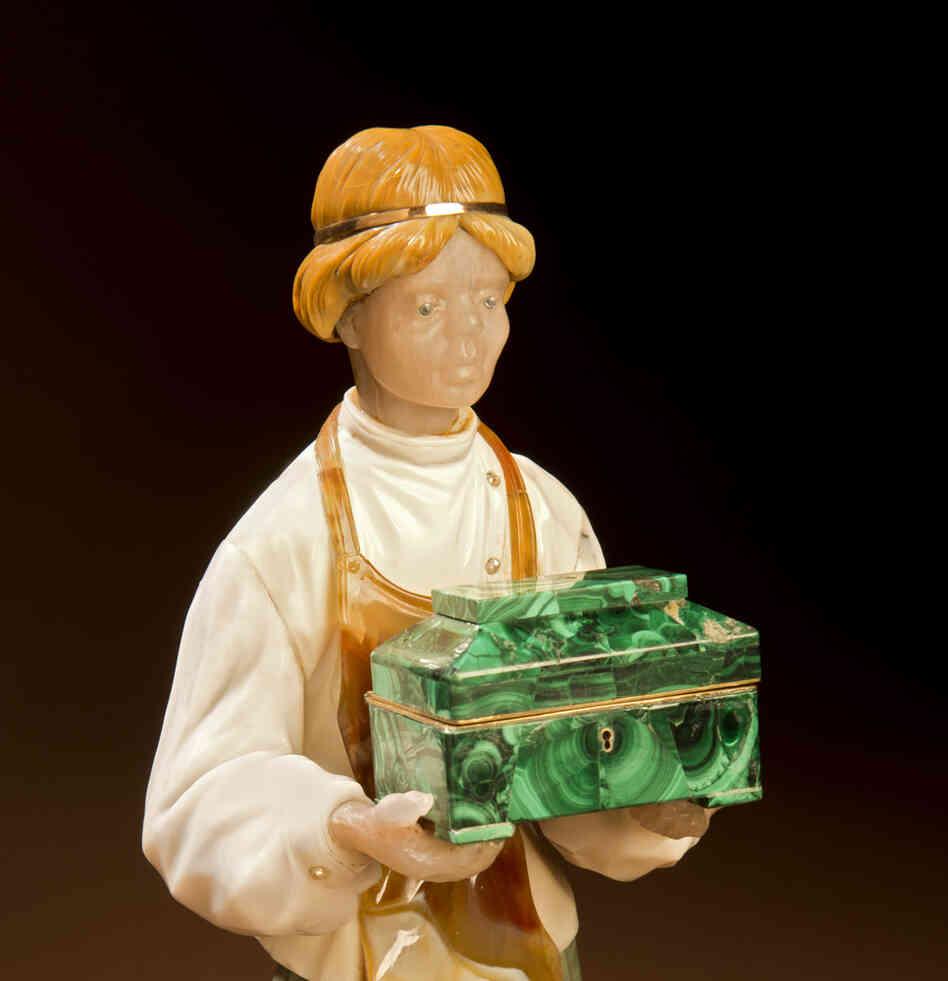 Emigre artist sculpted exquisite gems of russian folk life