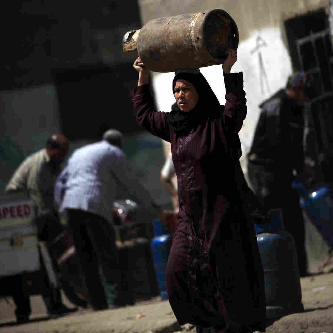 As Egypt Negotiates IMF Loan, Food And Fuel Prices Soar