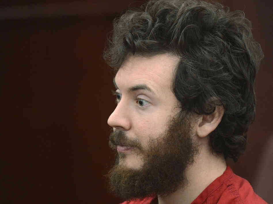 Accused Aurora theater gunman James Holmes dur