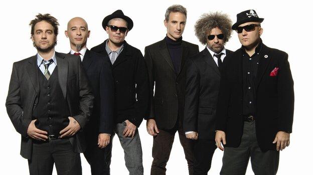 The Argentine rock band Los Fabulosos Cadillacs.