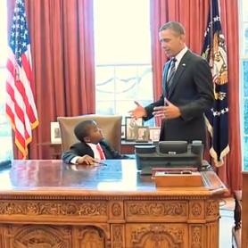 WATCH: Kid President Meets President Obama