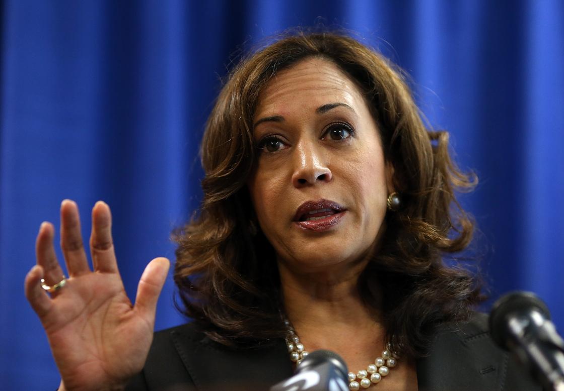 California Attorney General Kamala Harris.