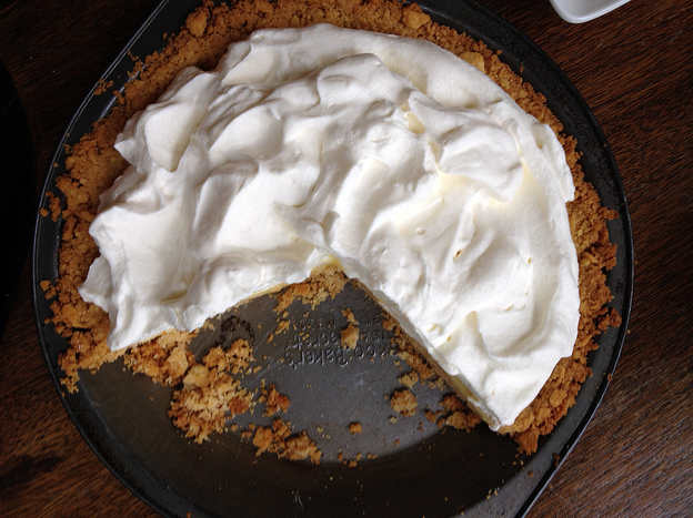 Bill Smith's Atlantic Beach Pie is based on a recipe for lemon pie, a staple of the North Carolina coast.