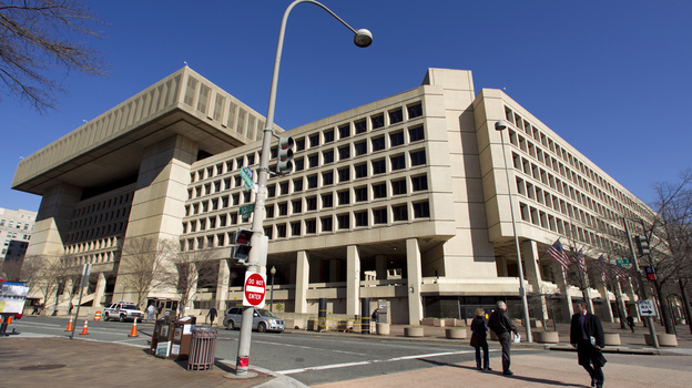 The Federal Bureau of Investigation headquarters in Washington, just blocks from the White House, has long been the government building everyone loves to hate. (AP)