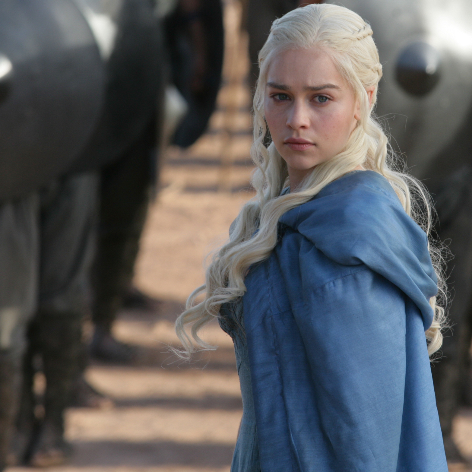 Emilia Clarke plays Daenerys Targaryen in HBO's Game of Thrones. The illicit popularity of show, based on George R.R. Martin's best-selling fantasy books, has wider implications for the future of TV.