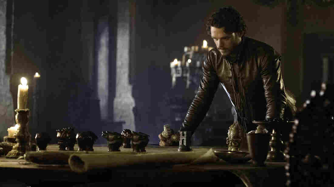 Richard Madden plays Robb Stark in HBO's Game of Thrones.