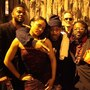 Ghostface Killah with Adrian Younge and his band, Venice Dawn, after their first performance together. Ghostface Killah and Ad