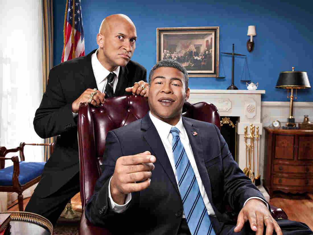 Comedy Central's sketch comedy duo Keegan-Michael Key and Jordan Peele have frequently referenced code-switching in their humor.