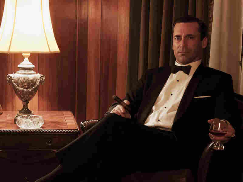 """Mad Men returns with a two-hour season premiere. TV critic David Bianculli won't reveal any spoilers, but he praises actor Jon Hamm, who """"so sparingly and perfectly"""" plays Don Draper in the series."""