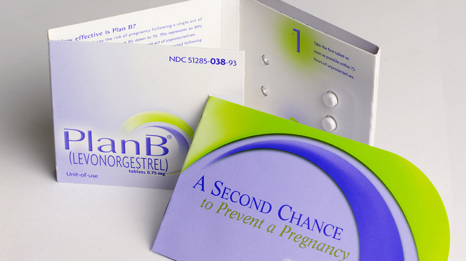 Plan B is one of two emergency contraceptives available in the U.S. (UPI/Landov)