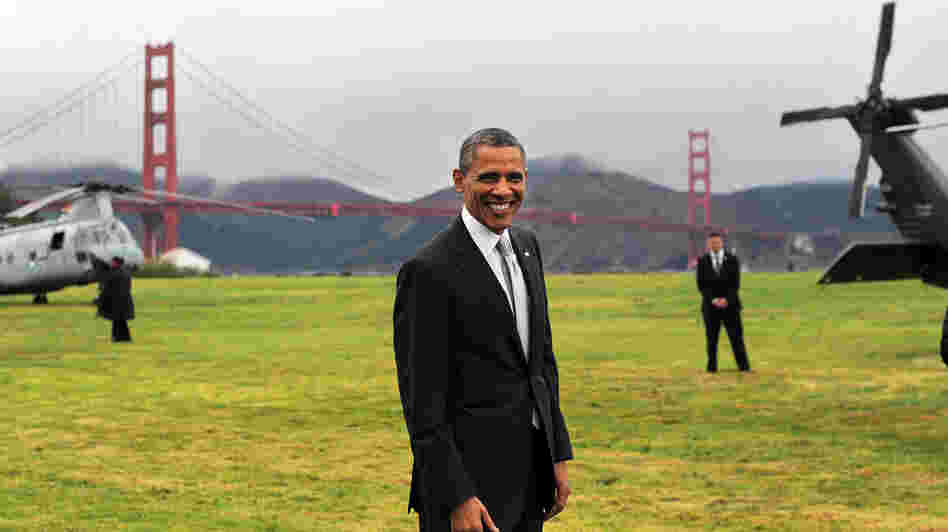 President Obama prepares to depart San Francisco on Thursday.