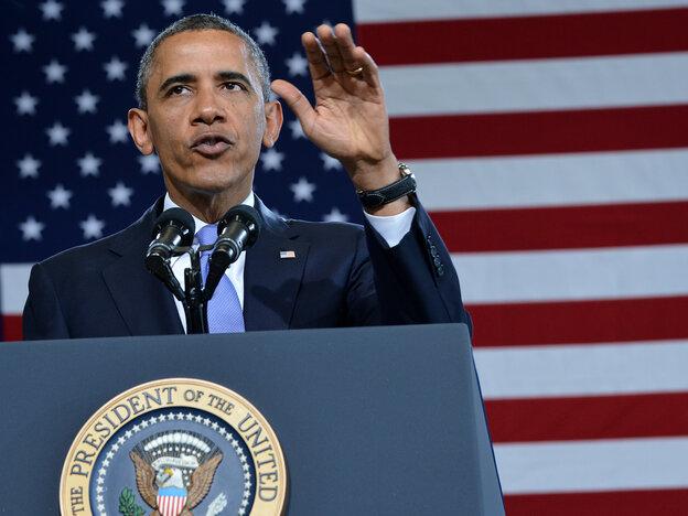 President Obama in Denver on Wednesday.