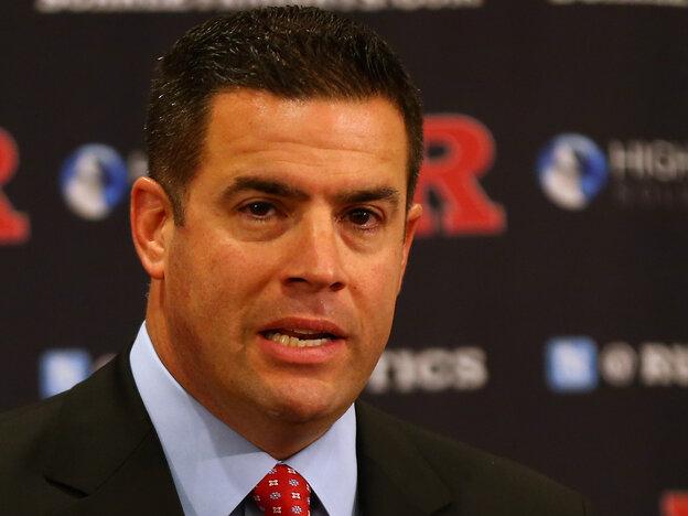 Rutgers University Athletic director Tim Pernetti.