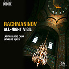 Rachmaninov's All Night Vigil.