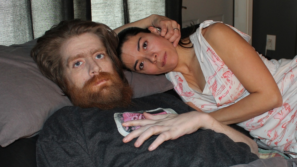 Tomas Young was paralyzed from the chest down during his deployment to Iraq. Since then, his health has only deteriorated. He has decided to refuse care and end his life, and his wife, Claudia Cuellar, says she respects his wishes. (Frank Morris for NPR)