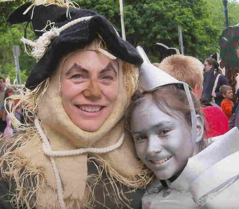 """""""My daughter and I each won best costume awards last year at the annual Oz Fest, held in Chittenango, N.Y., birthplace of L. Frank Baum."""" — submitted by amberink"""