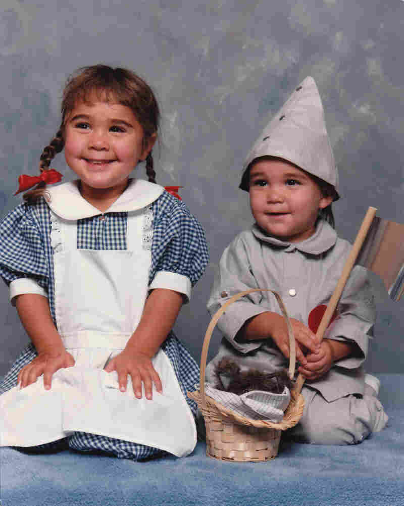 """I took my children (dressed as Dorothy and The Tin Man) to a local JCPenney portrait studio (circa 1989) and I was surprised when the young woman photographer asked what they were supposed to be. When I explained, I was even more shocked when she claimed to have never before heard of The Wizard of Oz."" — Sonja Brouwers"