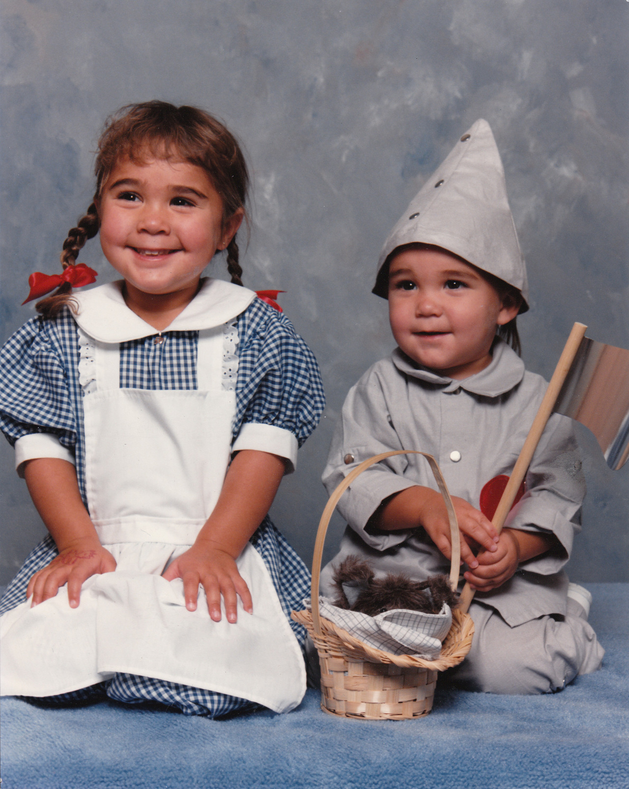 """I took my children (dressed as Dorothy and The Tin Man) to a local JCPenney portrait studio (circa 1989) and I was surprised when the young woman photographer asked what they were supposed to be. When I explained, I was even more shocked when she claimed to have never before heard of The Wizard of Oz."" -- Sonja Brouwers"