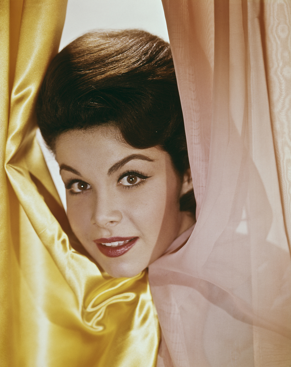 The American actress and singer Annette Funicello, photographed here circa 1960, died April 8, more than two decades after being diagnosed with multiple sclerosis. (Henry Gris, FPG/Getty Images)