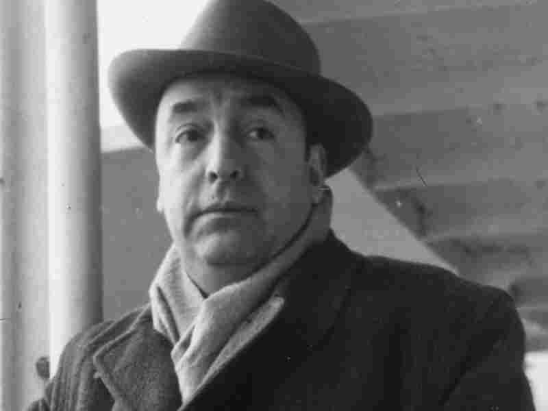 Chilean poet Pablo Neruda arrives in Capri, Italy, in 1952.