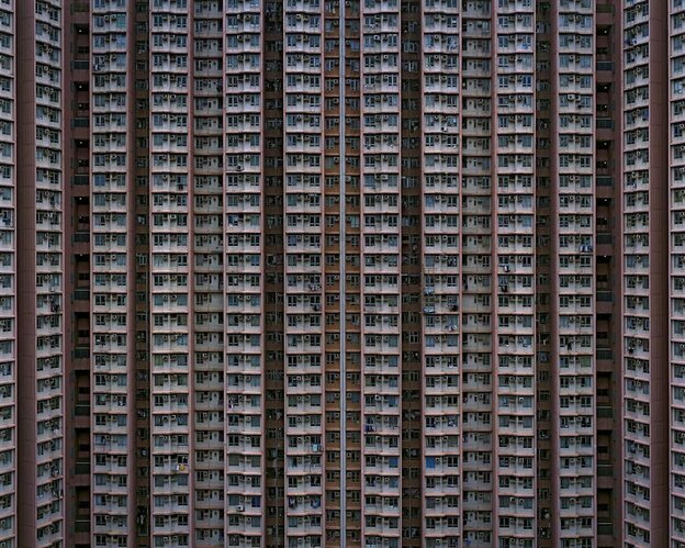 """Architecture of Density, a32"" by Michael Wolf"