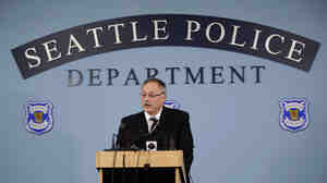 Seattle Police Chief John Diaz in 2009.