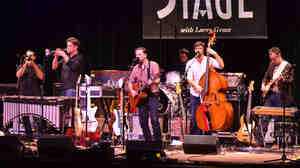 Calexico performs live on Mountain Stage.