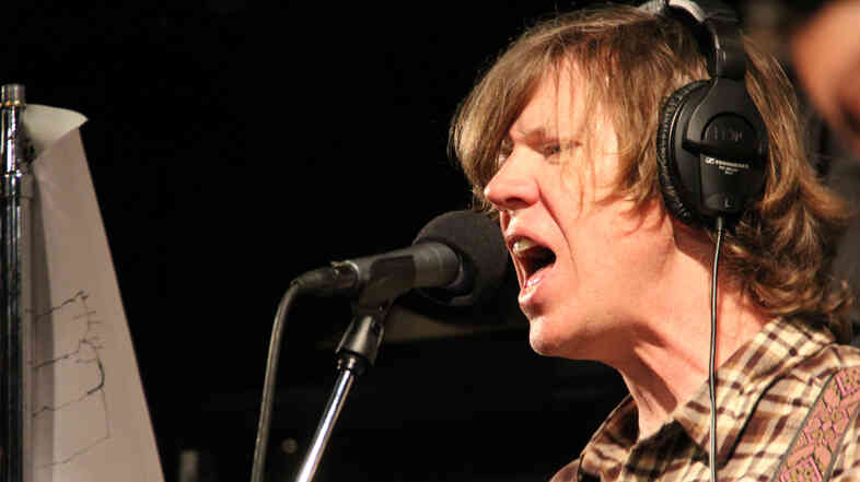 Thurston Moore performs with his band Chelsea Light Moving, live on KEXP.
