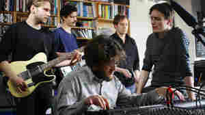 Efterklang performs a Tiny Desk Concert.