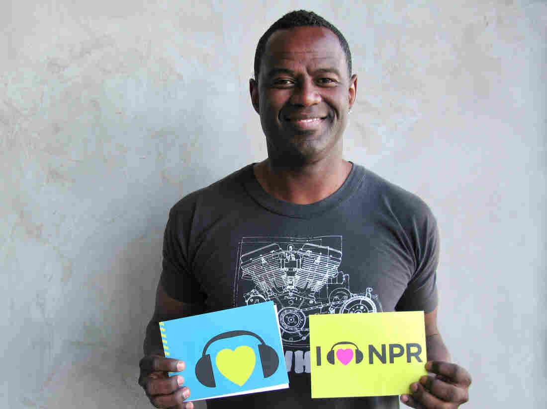 Brian McKnight at NPR West.