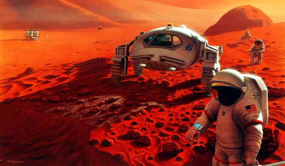 Will we need to tread lightly, in deference to the locals, when finally do make it to Mars?