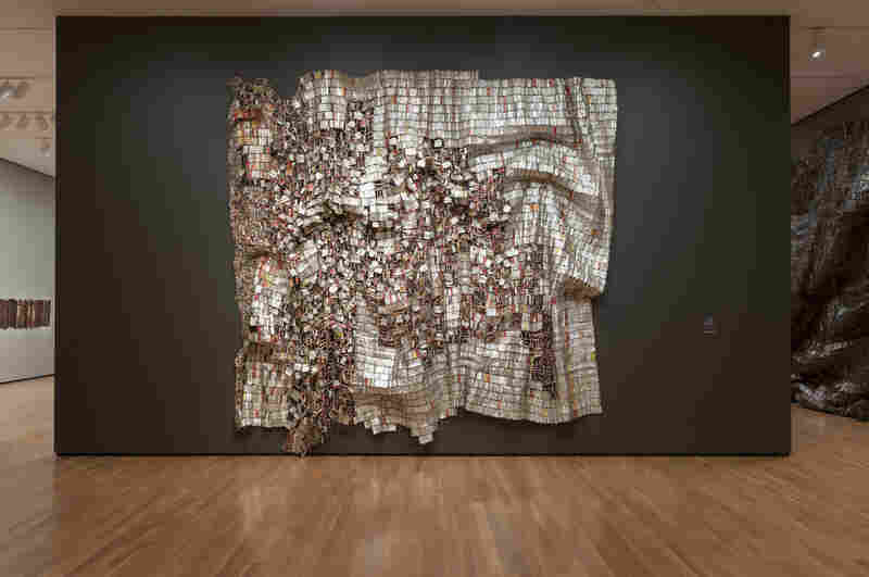Ozone Layer by El Anatsui, 2010.