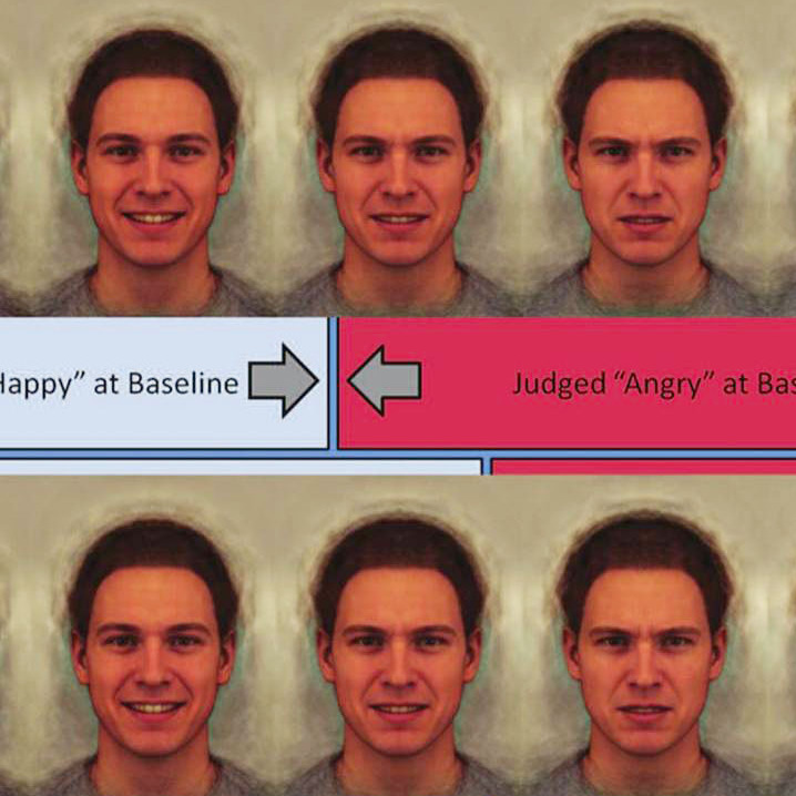To try to retrain troubled teens to reinterpret facial expressions, researchers showed them images of happy, angry and neutral faces, and then gave them feedback on how they described them.
