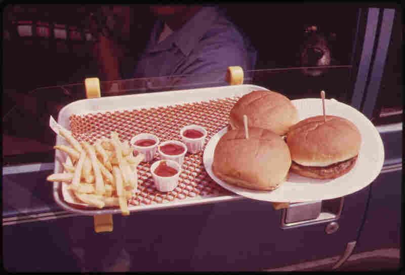 Lunch in the car — Hylan Boulevard, Staten Island.