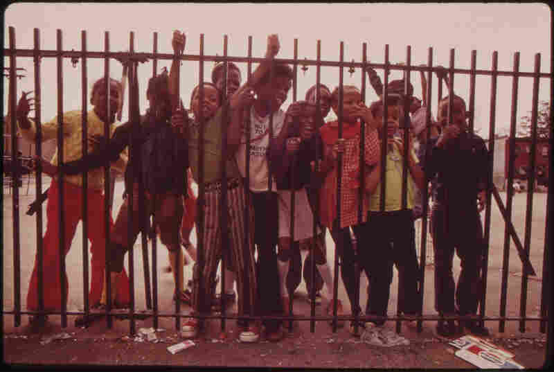 Playground, Philadelphia, August 1973.