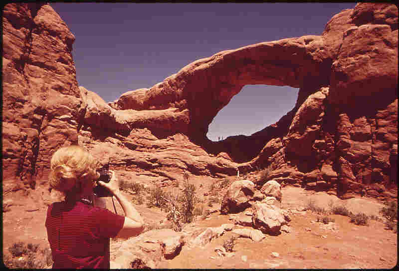 Arches National Park, Utah, 1972.