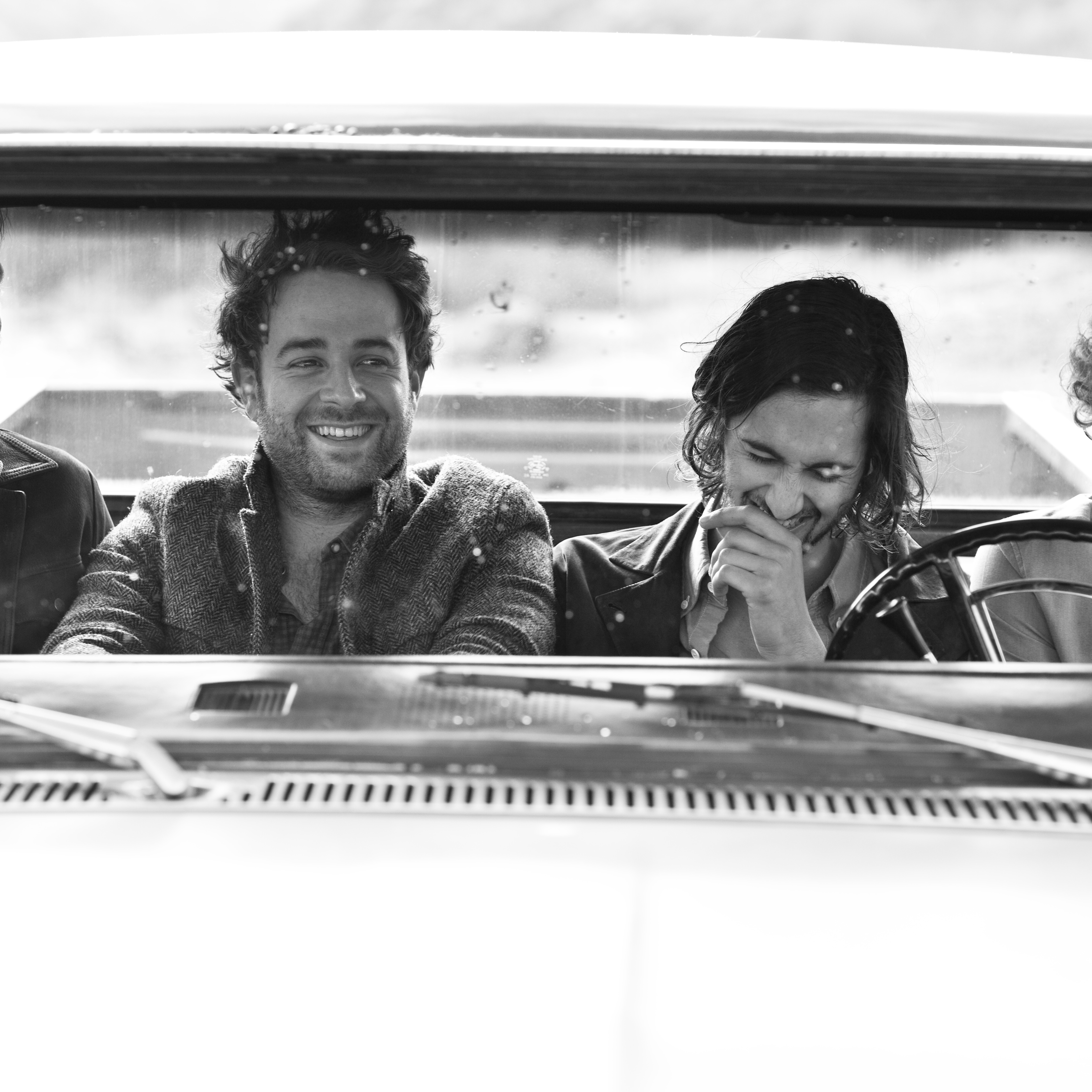 Dawes is Tay Strathairn, Taylor Goldsmith, Wylie Gelber and Griffin Goldsmith.