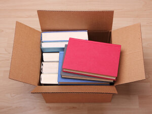 Books in a box