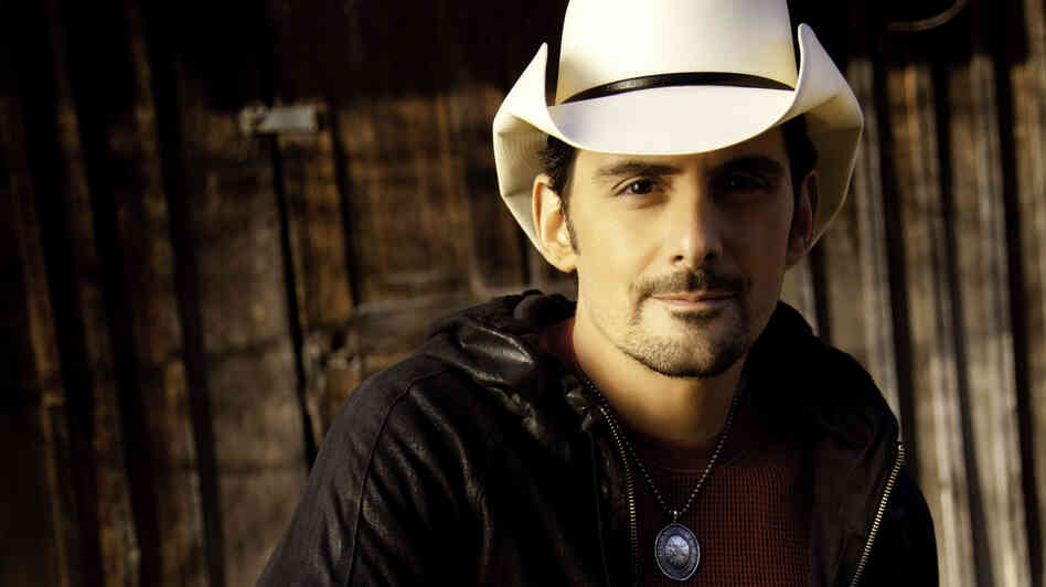 Brad Paisley's new album is titled Wheelhouse.