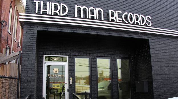 Third Man Records headquarters in Nashville, Tenn. (Courtesy of the label)