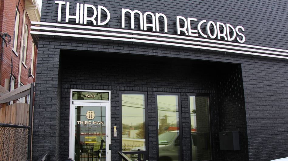 Third Man Records headquarters in Nashville, Tenn.