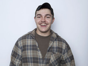 This Jan. 2, 2013, photo shows Shain Gandee, from MTV's Buckwild, in New York. Gandee was found dead April 1. MTV said Wednesday it won't air the second season of the s