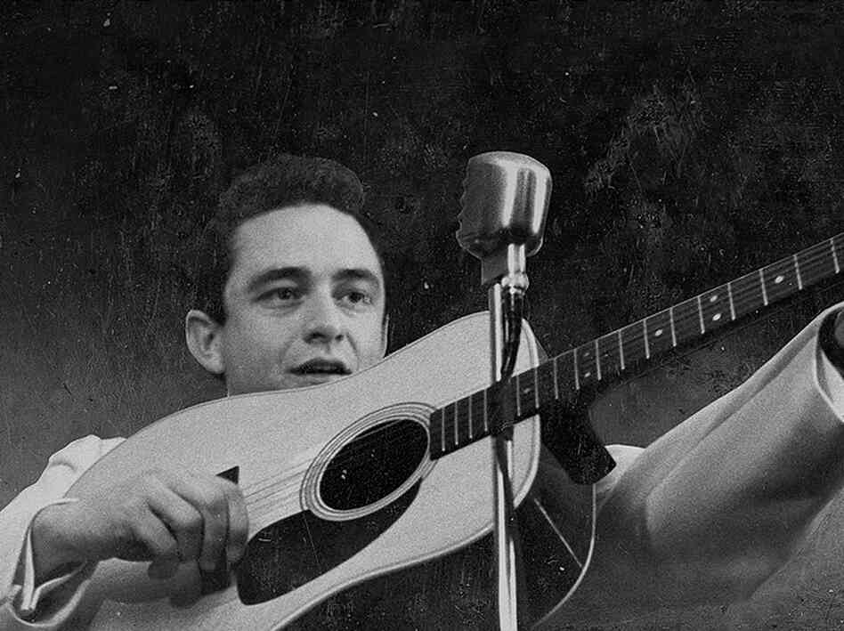Johnny Cash Air Force Career http://www.npr.org/2013/04/13/176839065/fresh-air-weekend-mormon-elders-johnny-cash-and-jherek-bischoff