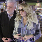 World Cafe hose David Dye and singer-songwriter Elizabeth Cook check out Grimey's Records in Nashville, Tenn.
