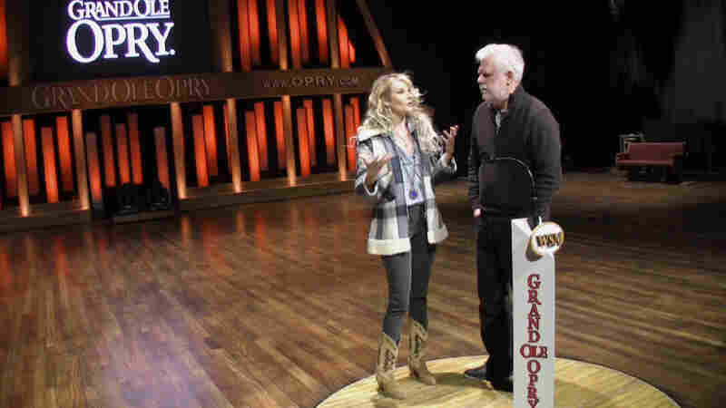 Elizabeth Cook takes World Cafe behind the scenes and on to the stage at the Grand Ole Opry.