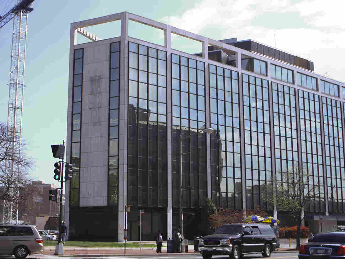 Twenty years after if first opened, NPR's old headquarters is being torn down. The network is moving to a new building at 1111 North Capitol street NE.