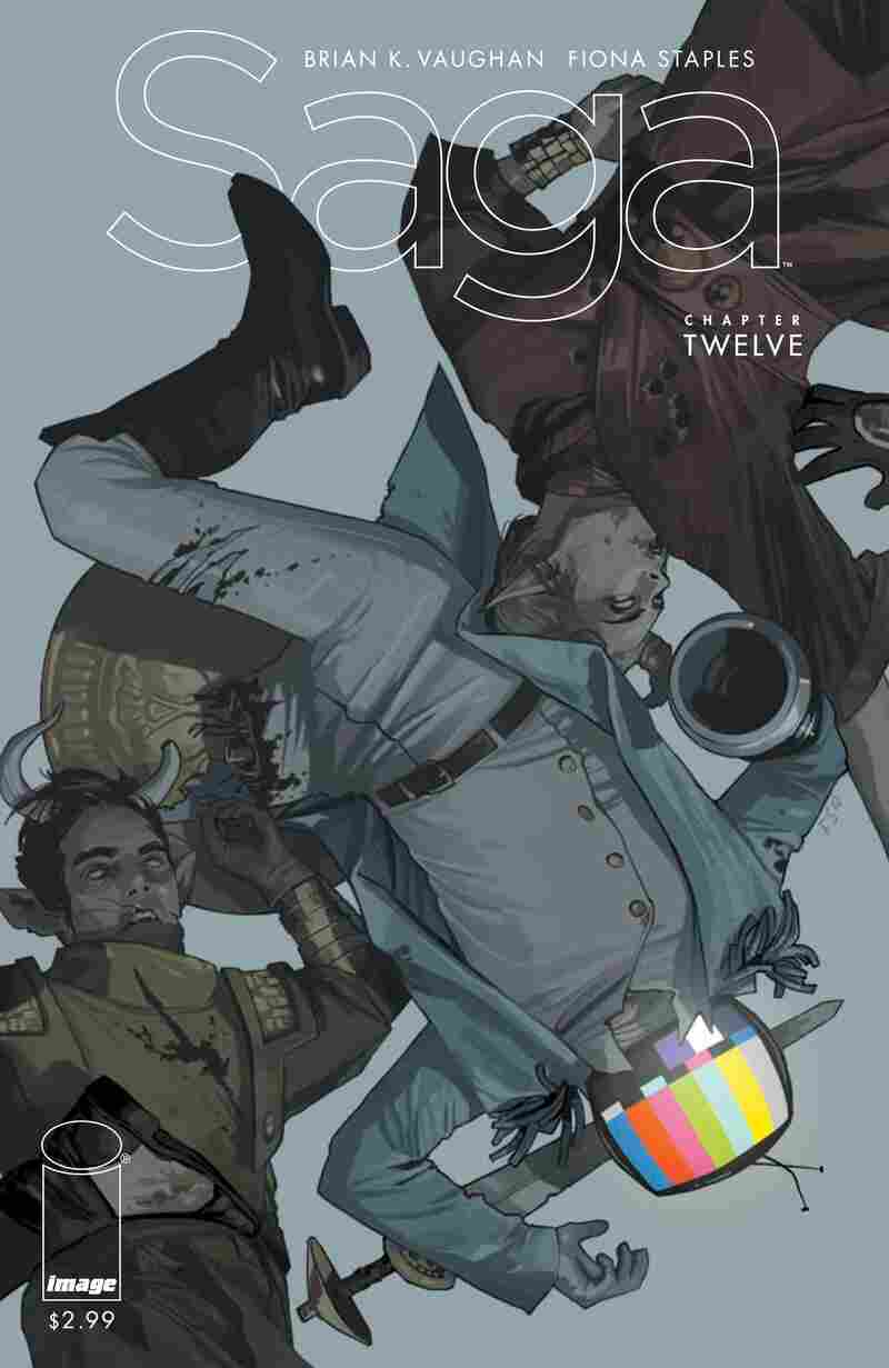 The cover of Saga, issue #12.