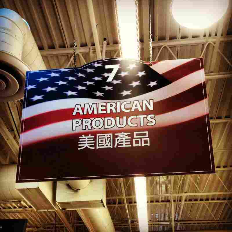 "A sign in a Korean-owned supermarket in Rosemead. This is like the ethnic foods section of your local ""American"" chain grocery store, but in reverse!"